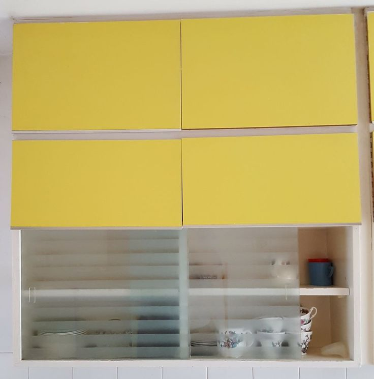 COMPLETE DAIRYMAID VINTAGE KITCHEN IN LEMON 1964 10 UNITS Buy Direct go to www.browse-a-while.com or call 01785747325