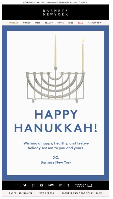 "SUB: ""Happy Hannukkah by Barneys New York"" Anyone?"