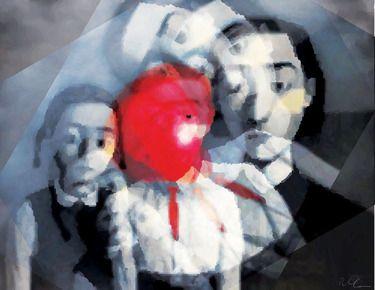 "Saatchi Online Artist Riccardo Schiavon; Digital, ""New frontiers 10"" #art"