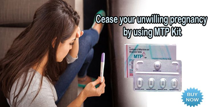 Discharge unwilling pregnancy by taking step of abortion with MTP Kit