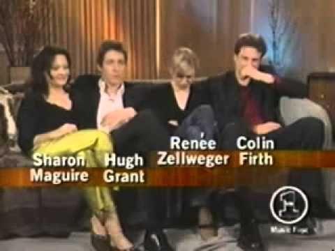 Bridget Jones 1 - Interview to the cast