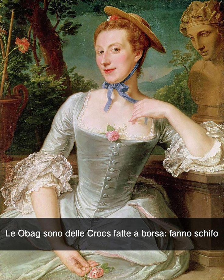 Snapchat: stefanoguerrera Jeanne Antoinette Poisson marchesa di Pompadour - Francois-Hubert Drouais (1760) Le Obag sono delle Crocs che ce l'hanno fatta. RINSAVITE PERDIANA.