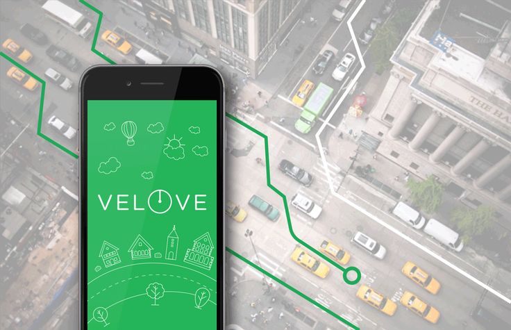 Velove application on Behance