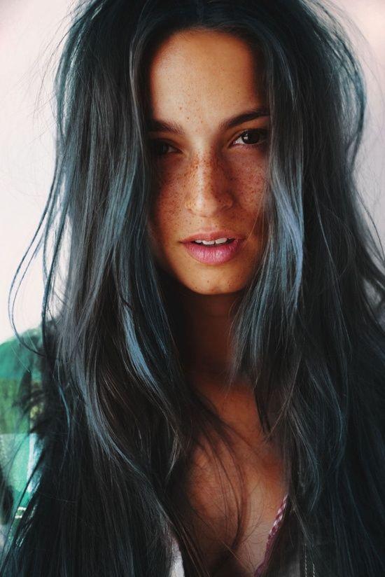 Long natural hair to copy.