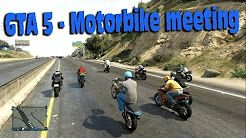GTA Online - Motorbike Meet 1 ! - YouTube