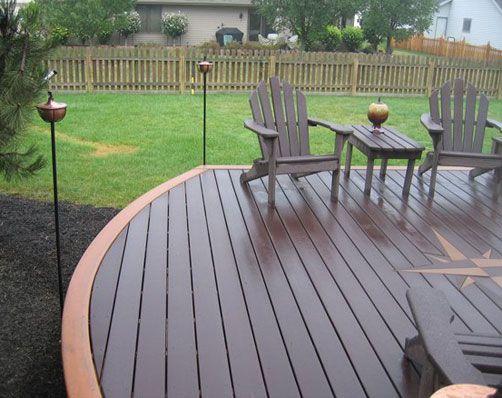31 best images about trex decks on pinterest deck for Composite garden decking