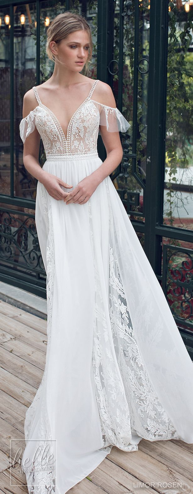 Lace dress bell sleeves june 2019  best Braut Kleider u Anderes images on Pinterest  Wedding