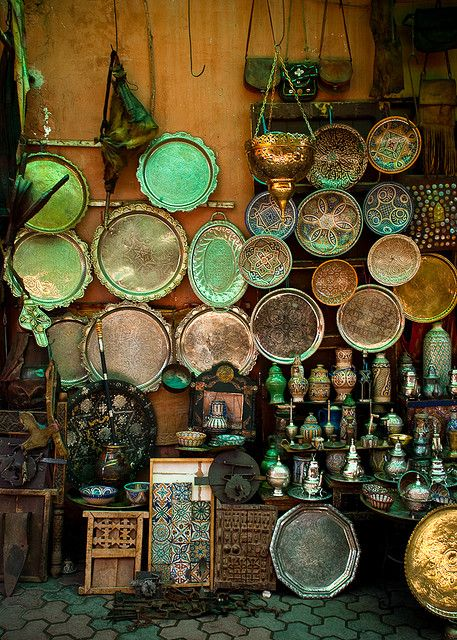 """Many visitors to Morocco are surprised at the Jewish areas known as Mellah in towns such as Marrakech and Essaouira. Mellah is from the Arabic word for salt as Jews in Morocco were often traders using their contacts in the Jewish Diaspora to set up the trade and banking relationships helped by the fact they often spoke several languages. Long protected and respected as ""people of the book"" they have been an integral part of Moroccan society and as well as traders have been respected as craftsme"