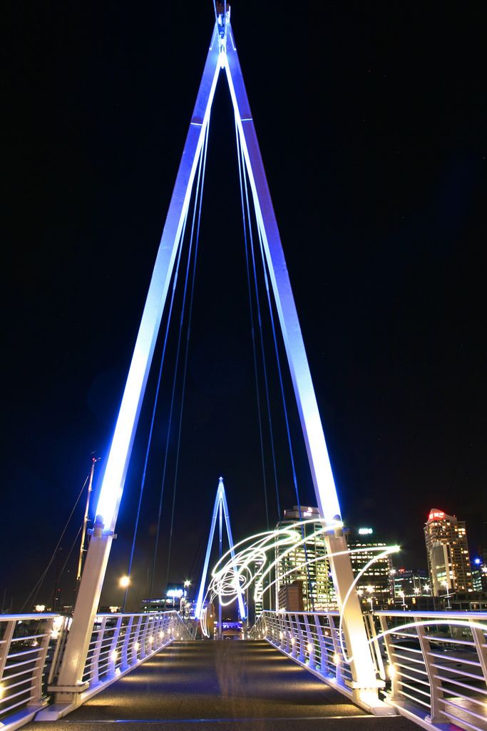 Wynyard Crossing | Pedestrian bridge in Auckland, New Zealand