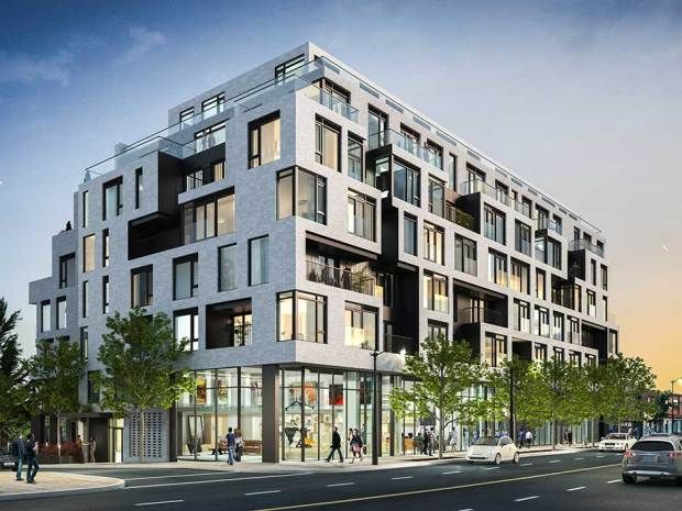 Duke Condos – The Junction, building rendering, Toronto, preconstruction