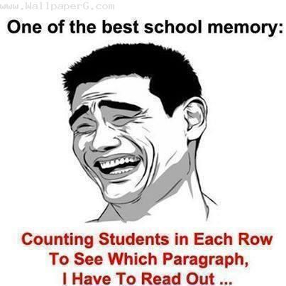 Download One of my best school memory - Funny quotes for your mobile cell phone http://www.wallpaperg.com/11/free-funny-wallpapers/1486/funny-quotes/7456/one-of-my-best-school-memory.shtml
