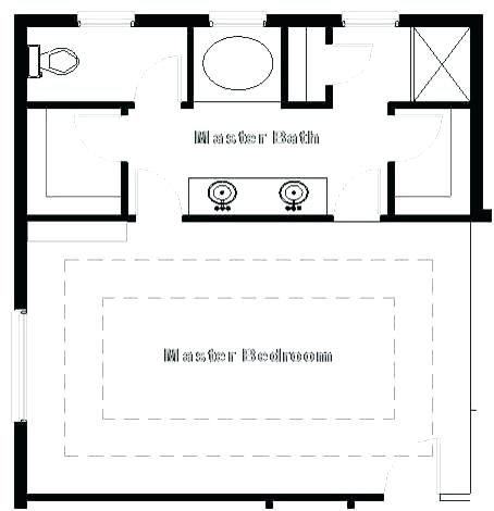 35 Master Bedroom Floor Plans Bathroom Addition , …