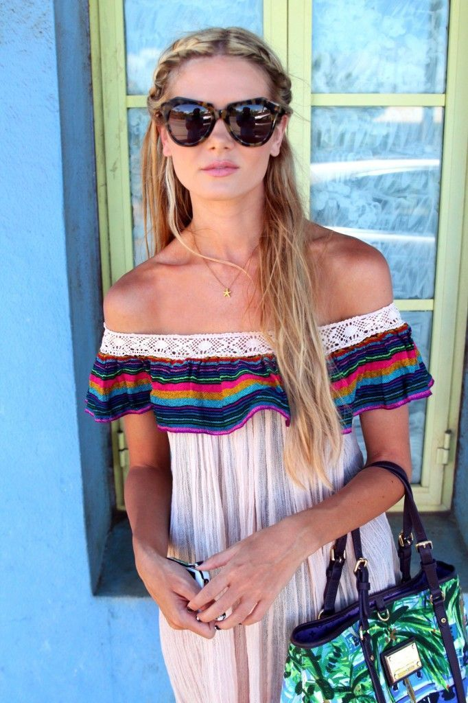boho chic mexican look