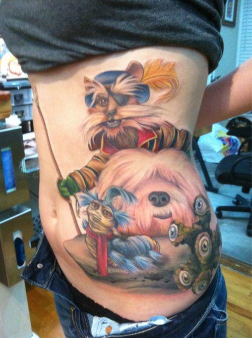 Sir didymus tattoo