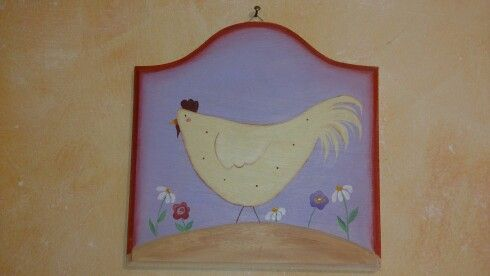 Pittura country: gallinella