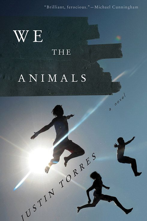 We the Animals by Justin Torres. In this groundbreaking debut, Justin Torres plunges us into the chaotic heart of one family, the intense bonds of three brothers, and the mythic effects of this fierce love on the people we must become.