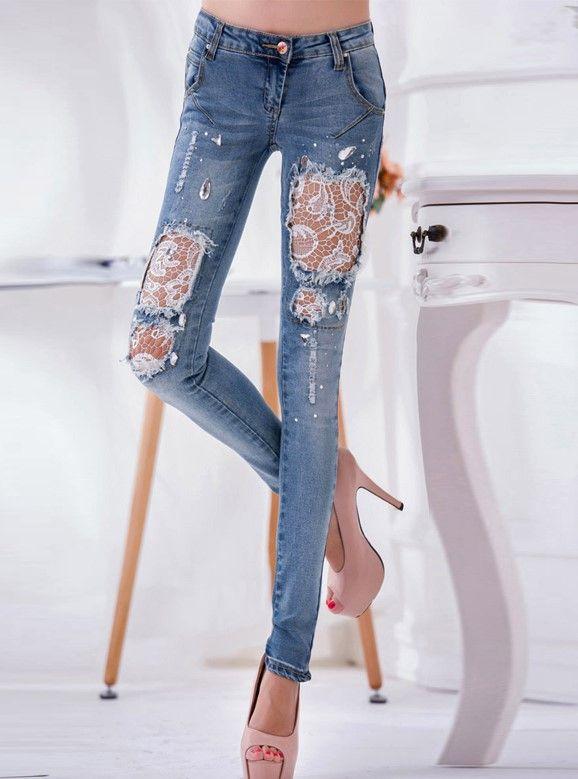 красивые заплатки на джинсах фото