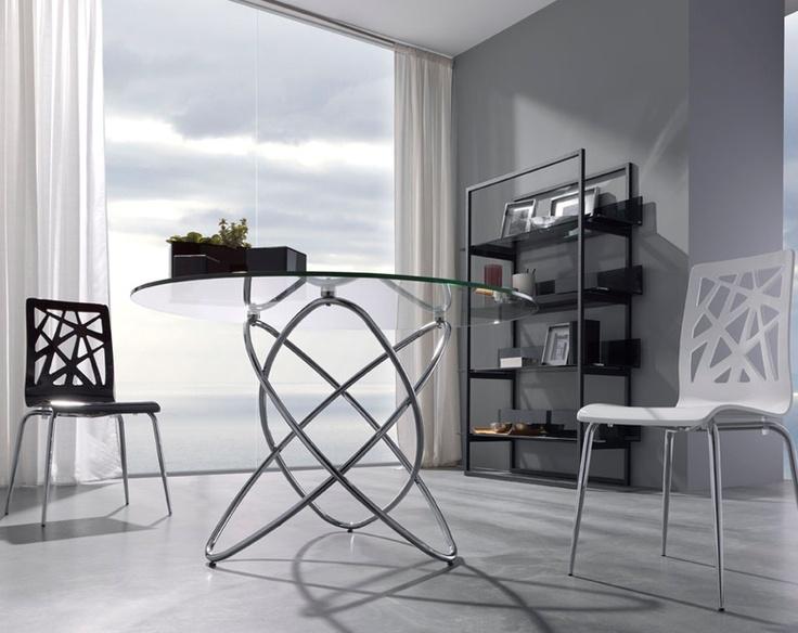 1000 images about mesas de comedor en pinterest mesas for Mesas redondas modernas