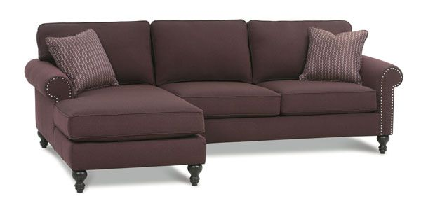 A best selling sectional from Rowe Furniture in Charlotte NC. Visit us to update the look of your home.