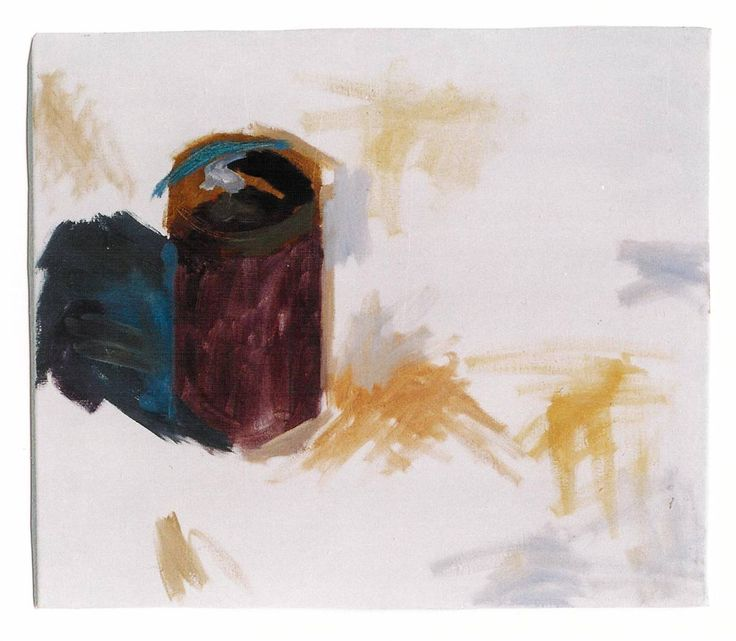 The color jar. Oil in canvas. Painting by May Kotsana
