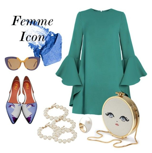 """Femme Icon"" by estebban-aguila on Polyvore featuring moda, NARS Cosmetics, Marni y Kate Spade"