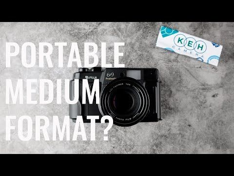 Is a camera portable because it's small, or is…