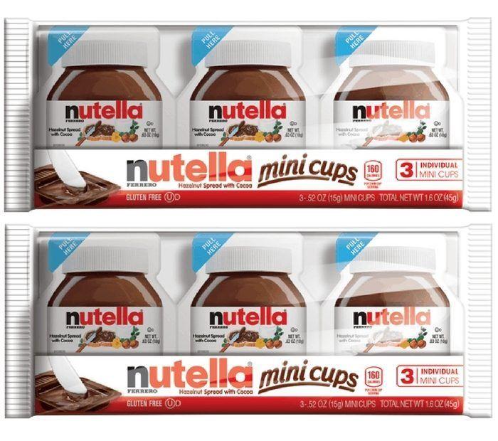Nutella Mini Cups Just $0.50 At Walmart!  http://feeds.feedblitz.com/~/288137116/0/groceryshopforfreeatthemart~Nutella-Mini-Cups-Just-At-Walmart/