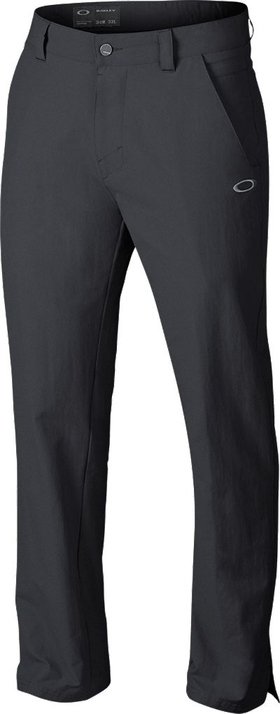 Black golf pants w/ outside slits at bottom. Doesn't have to be these. Oakley Take 2.5 Pants   Golf Galaxy