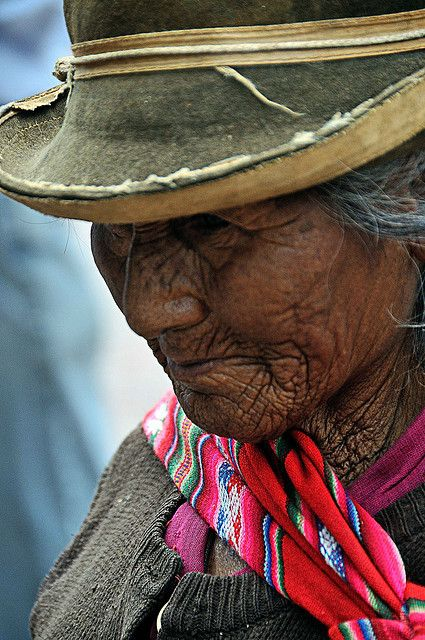 Woman in Bolivia.
