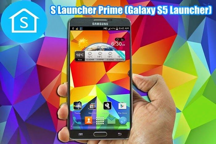 S Launcher Prime Galaxy S5 Full Apk | mobil indir