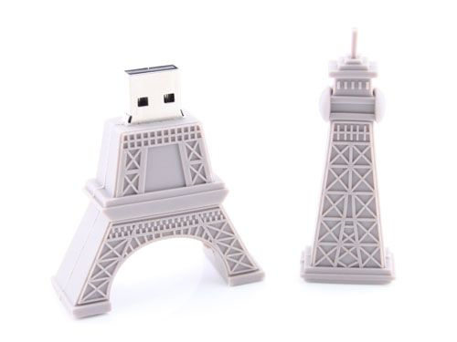 Eiffel Tower USB drive-- tres bon!