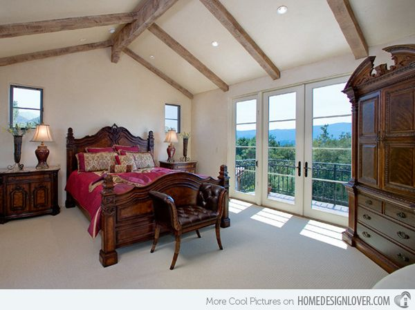 Tuscan Style Bedrooms