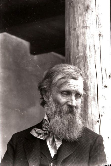 John Muir - an amazing Scottish-American, a Christian who loved God's creation and founded the Sierra Club