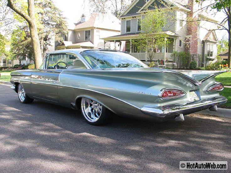1959 Chevy Impala...Classy, no?