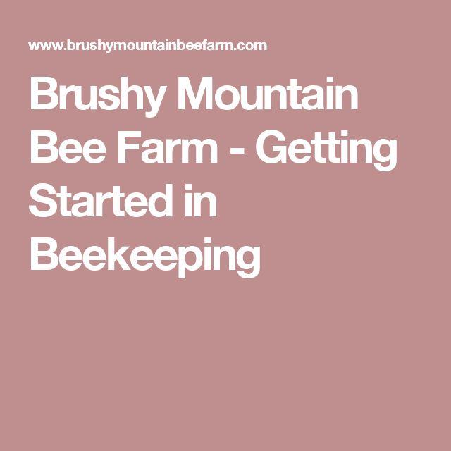 Brushy Mountain Bee Farm - Getting Started in Beekeeping #beekeepinggrants
