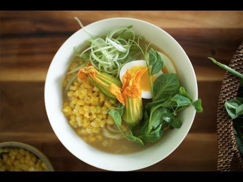 BEAUTIFUL VIDEO: Ramen with Farm Fresh Egg & Spring Vegetables | Farm to Table Family | PBS Parents MORE RECIPES: http://www.youtube.com/user/farmtotablefamily/videos