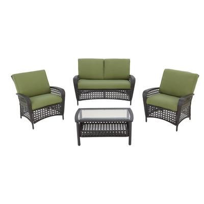 Martha Stewart Living 4 Piece Lanfair Set Steel Jd 1001d Home Depot Canada Patio And