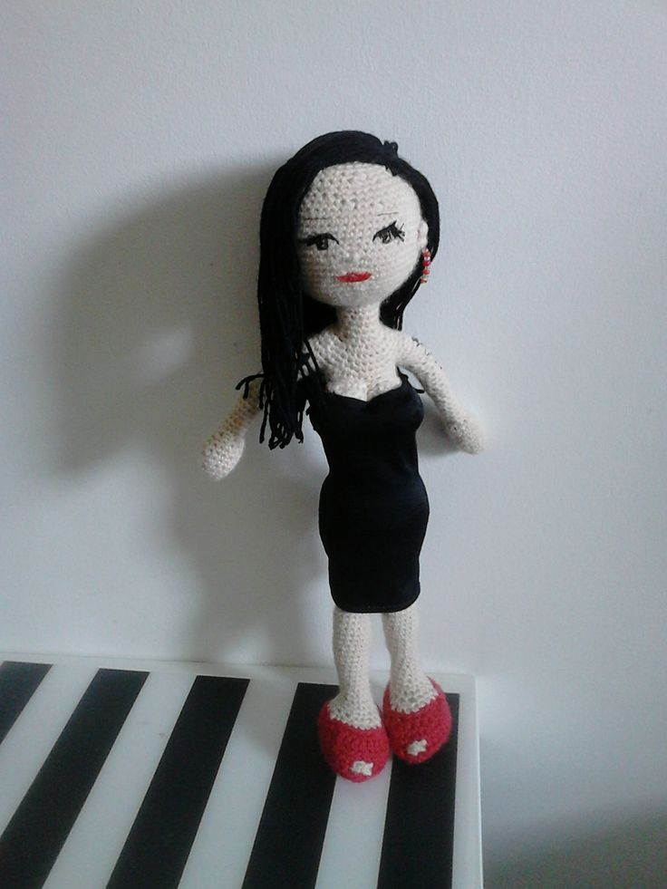 Alaska. Amigurumi doll. Crochet