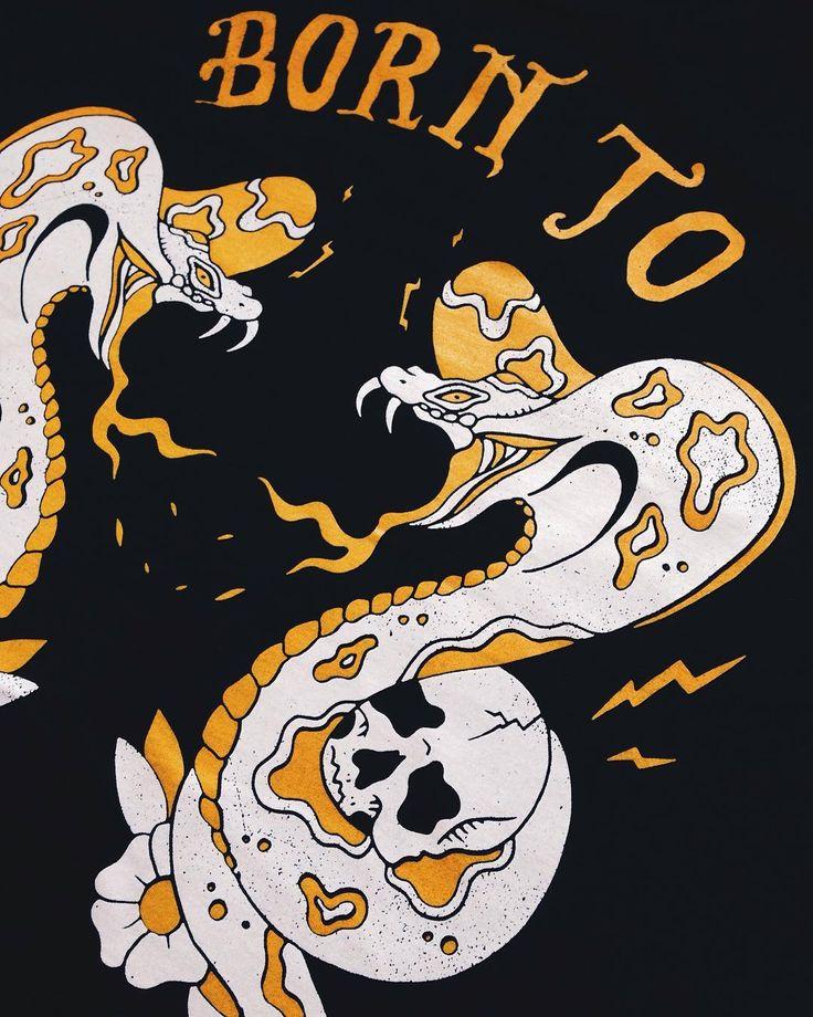 Born to raise hell. Purchase yours on my web store: malatesta.mysupadupa.com .. Yes shipping is  . . . . . . . . #ink #illustration #print #custom #shirt #art #fun #apparel #draw #design #drawing #sketch #sketching #screenprint #clothing #420 #berlin #sharpie #aceofspades #tattoo #traditional #tshirt #black #artwork #biker #lemmy #handmade #printmaker #motorhead #surf