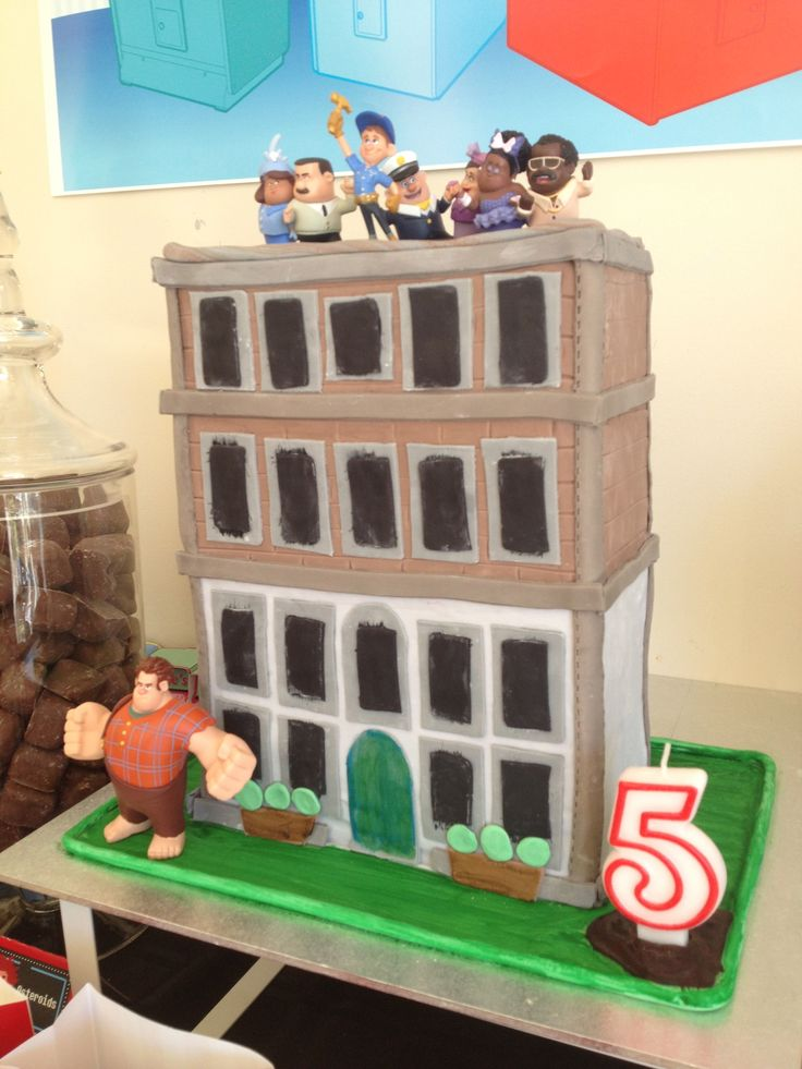 Wreck It Ralph Party Cake by Cakes By Nadia