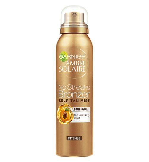 Ambre Solaire No Streaks Bronzer Light Self Tan Face Mist 75ml