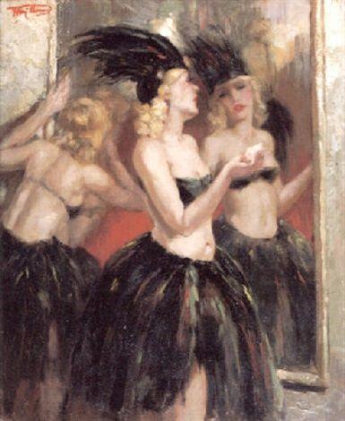 Au cabaret by Henri Joseph Thomas