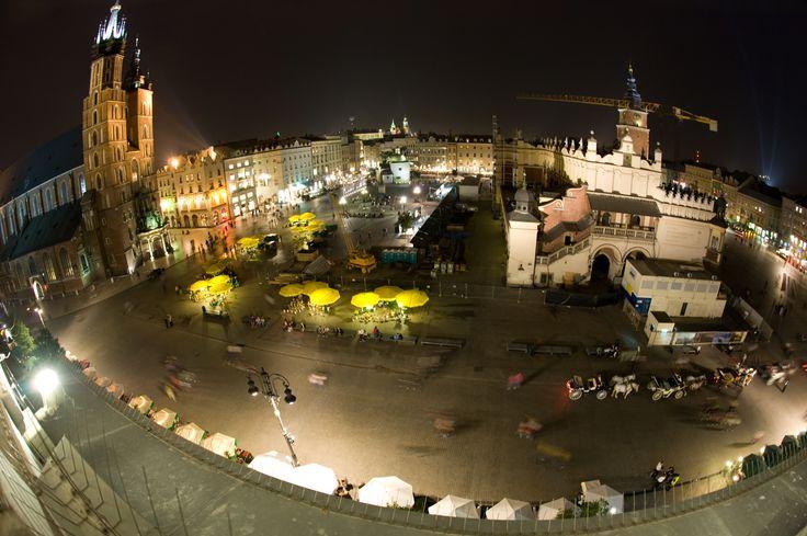 View from the Palace's window - Market Square in Krakow   www.palacbonerowski.pl http://www.tripadvisor.com/Hotel_Review-g274772-d966845-Reviews-The_Bonerowski_Palace-Krakow_Lesser_Poland_Province_Southern_Poland.html  #thebonerowskipalace #palacbonerowski #krakow #historichotelsofeurope #hotelehistoryczne #hotel #poland