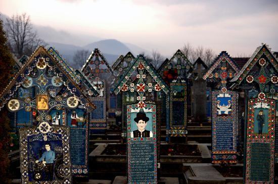 Merry cemetary, Romania