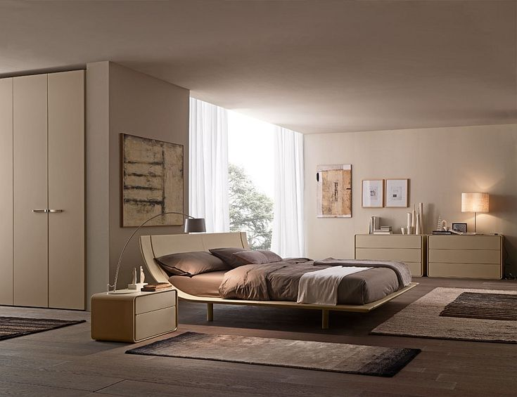 Bedroom - Elevate Bedroom Style With These Posh Contemporary Beds - 2
