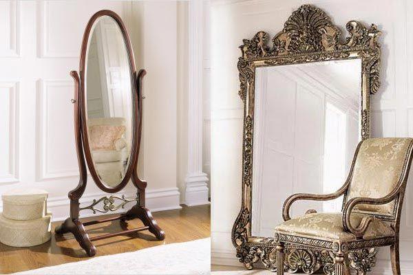 Напольное зеркало — красота во весь рост