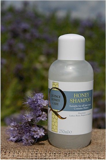 Honey Shampoo - Soar Mill Seeds  This lightly scented, gentle shampoo is suitable for all hair types. With honey and marigold extract to gently cleanse the hair - lather, rinse, repeat as desired. Suitable for frequent use.   Not Tested on animals, Lanolin Free.   250ml plastic pot with screw top lid.   Made and packaged in England