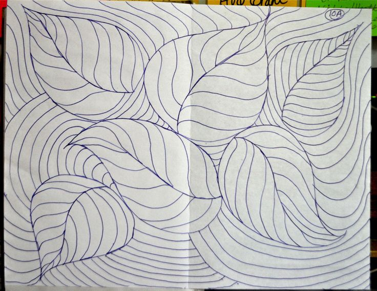 Drawing With Lines And Shapes : An art a day takes the blues way lines make shapes u homescool
