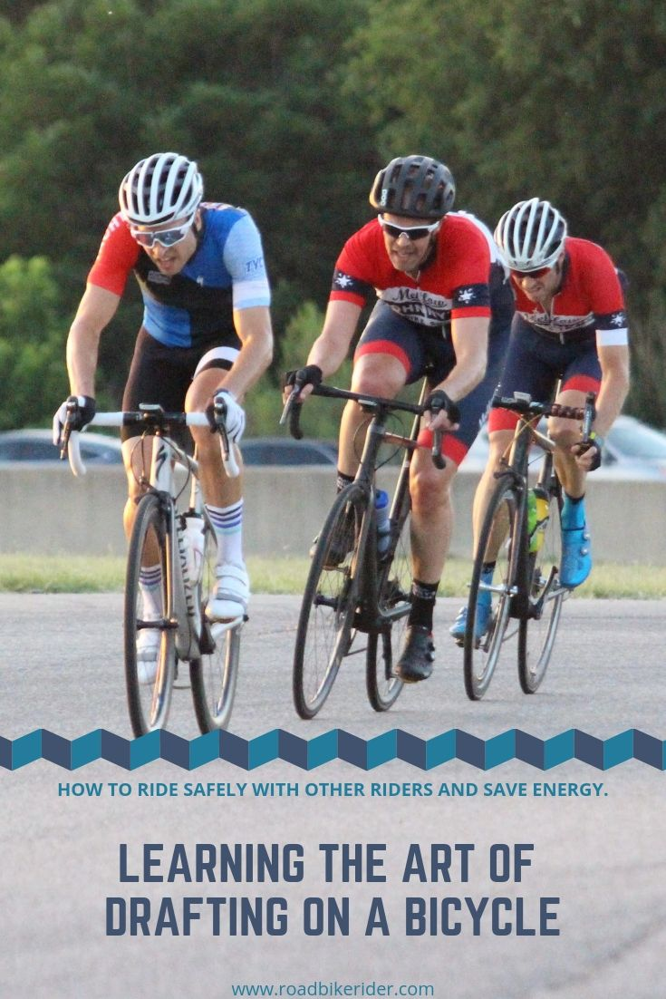 Learning How To Draft On A Bicycle Safely Bicycle Cycling For