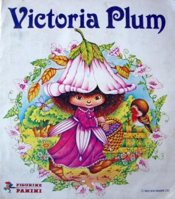 Loved Victoria Plum, had a wallpaper boarder of her and curtains too.